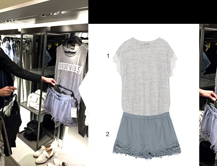 Spotted by Manon: grey shorts