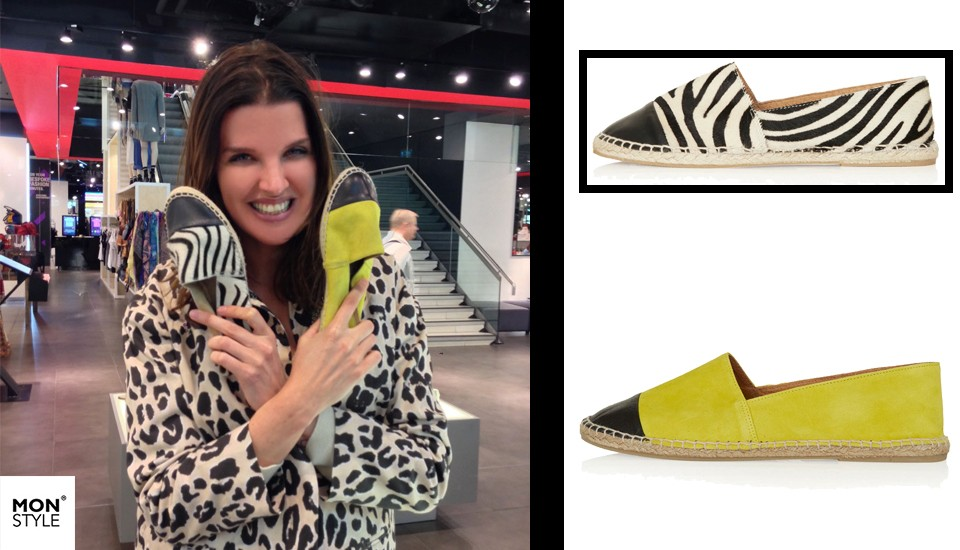 Spotted by Manon: Espadrilles