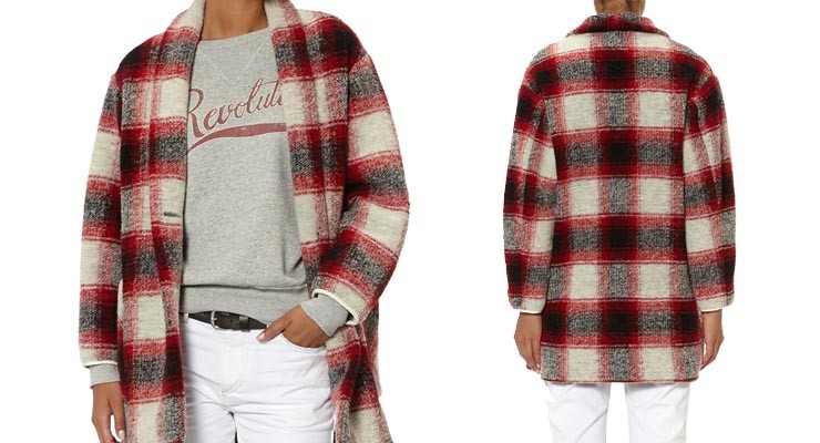 Isabel Marant tartan jacket: de real deal of knock-off?