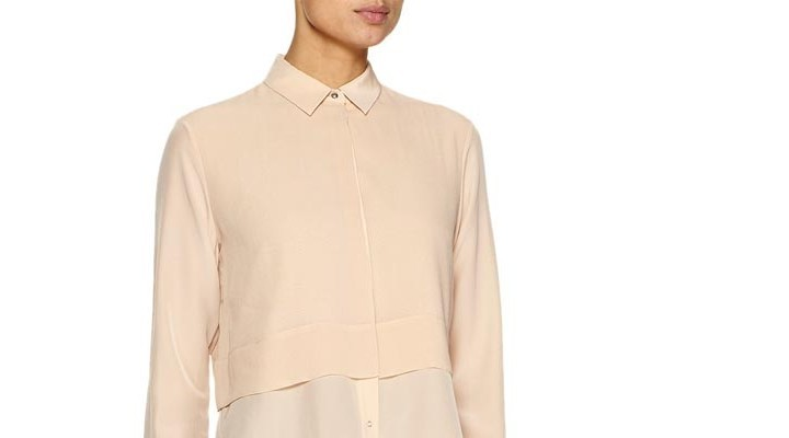 Alexander Wang nude blouse: de real deal of de knock-off..