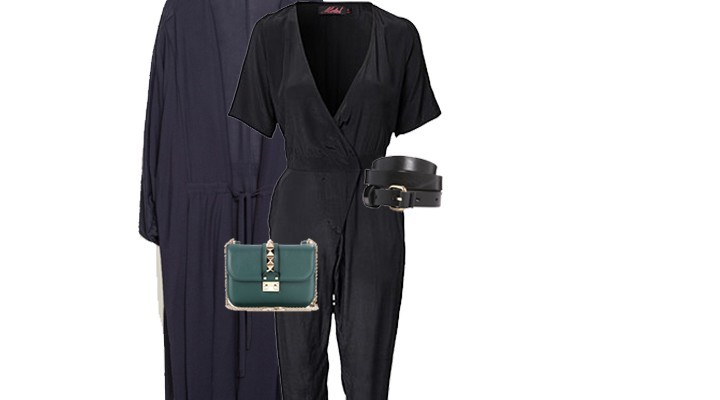 Styled by Manon : #Look 17/ Black Jumpsuit