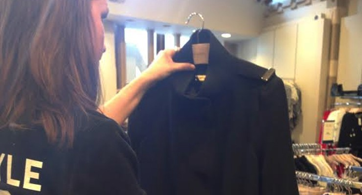 Spotted by Manon: Mango Military Jacket