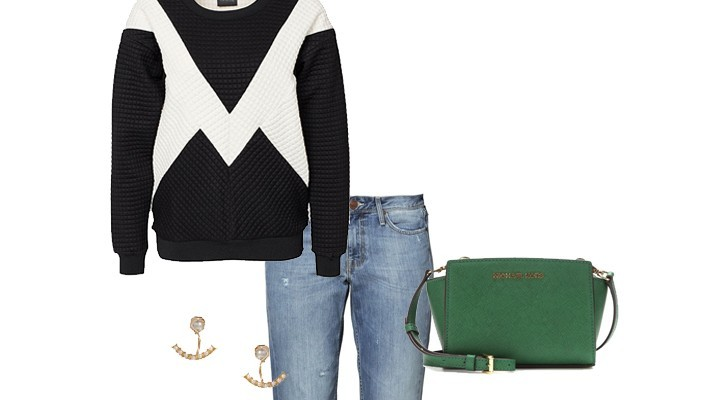 Styled by Manon : Look #8 / Sweater & Jeans