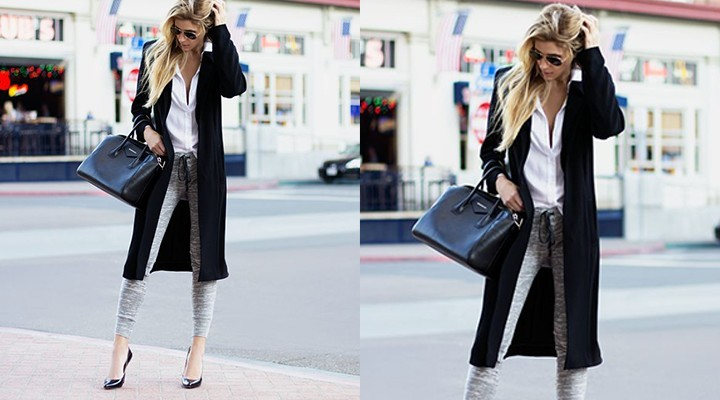Steal The Look: Sweatpants Chic