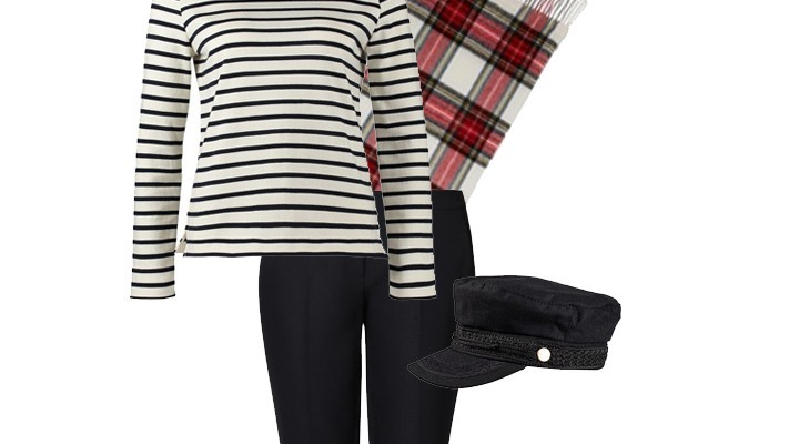 Styled by Manon: Look #11 / Striped Tee