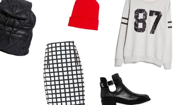 Styled by Manon: Look #34 / Graphic Pencilskirt