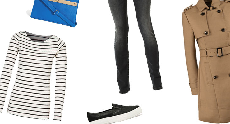 Styled by Manon: Look #42 / Classy stripes