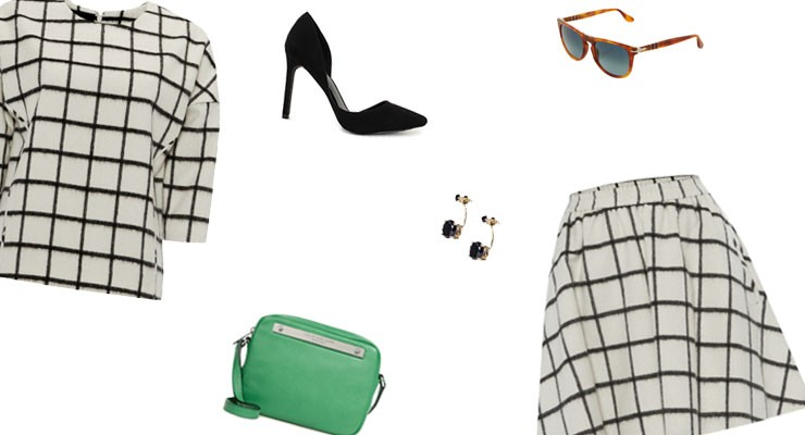 Styled by Manon: Look #55 / Checked print