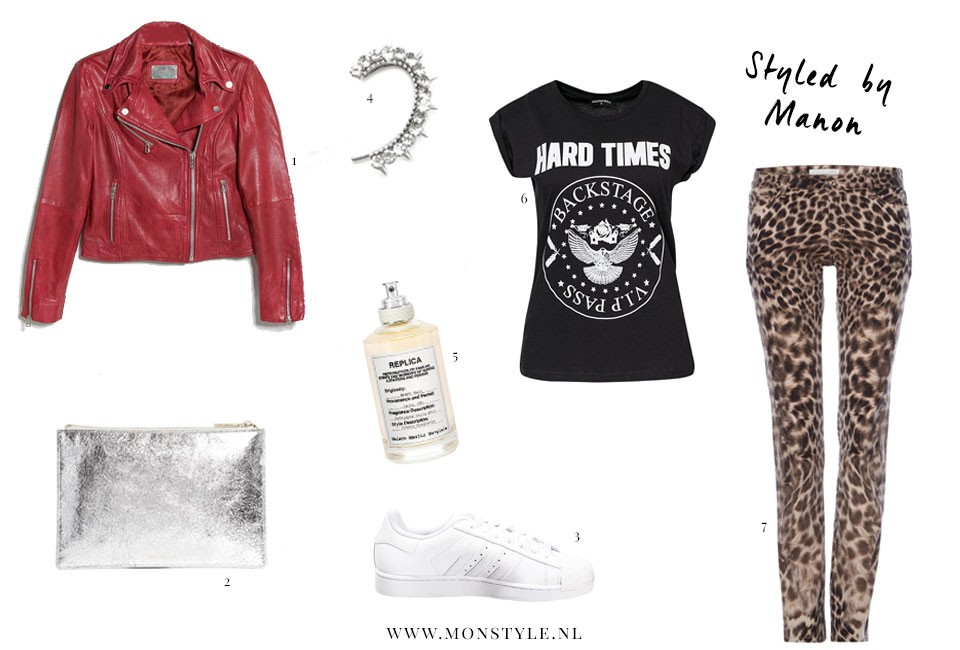rock and roll look