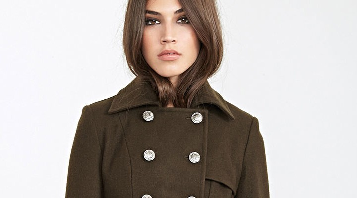 Broke or Bargain: Burberry green trenchcoat