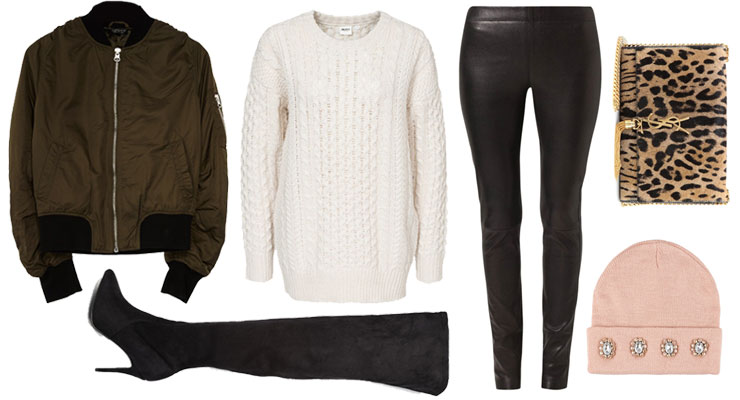Styled by Manon: Look #109 / Leather pants