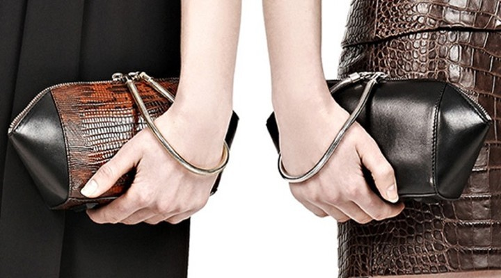Broke or Bargain: Alexander Wang Chastity clutch