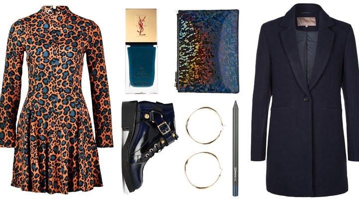 Styled by Manon: Look # 110 / Leopard dress