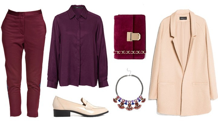 Styled by Manon: Look #83 / Burgundy