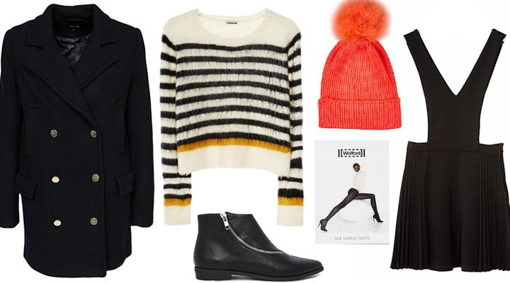 Styled by Manon: Look #106 / Coral beanie