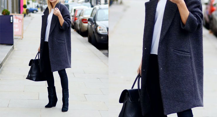 Steal The Look: Grey coat