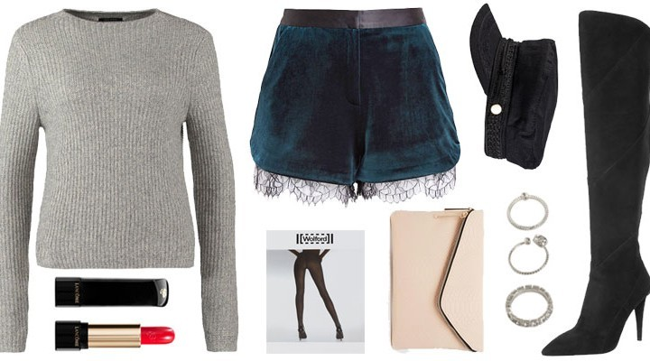 Styled by Manon: Look #116 / Lace shorts