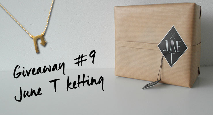 Giveaway #9: June T ketting