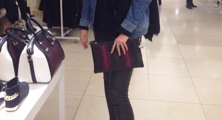 Spotted by Manon: Topshop clutch