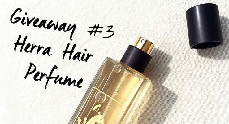 Giveaway #3: Herra Protect Hair Perfume