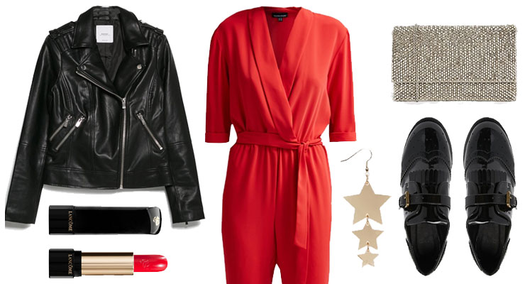 Styled by Manon: Look #119 / Red jumpsuit