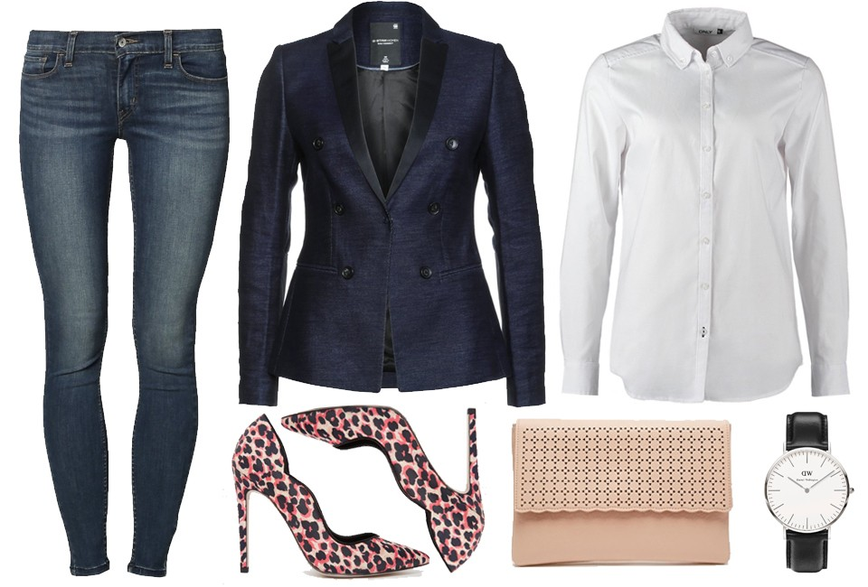 How to: dress up your jeans