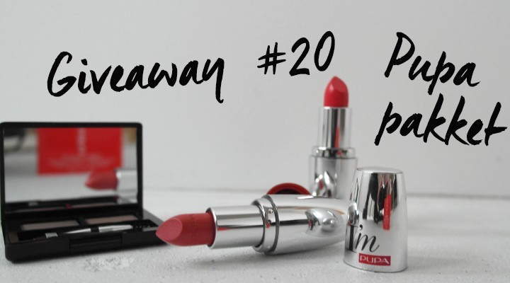 Giveaway #20: PUPA beauty pakket