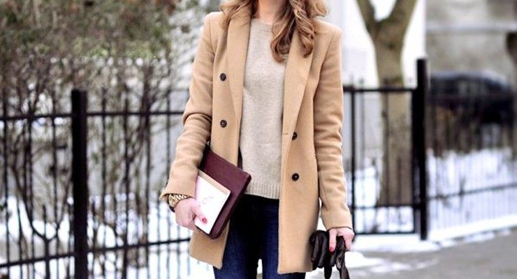 Steal the look: Camel coat