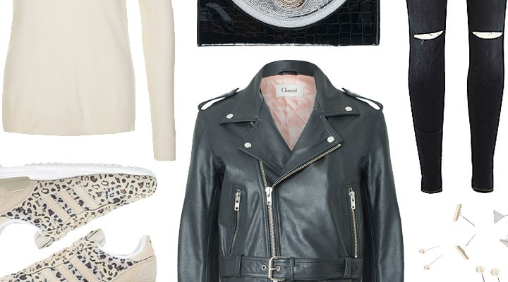 Styled by Manon #178 Leather jacket