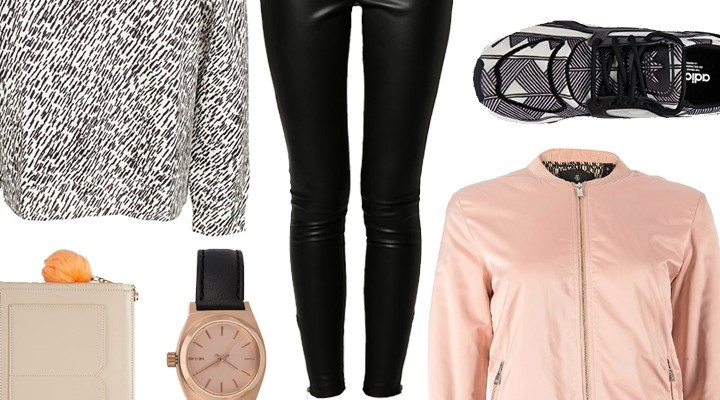 Styled by Manon #183 / Black & white sneakers