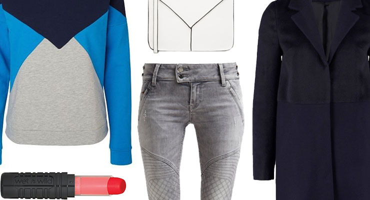 Styled by Manon #189 / Geometric sweater