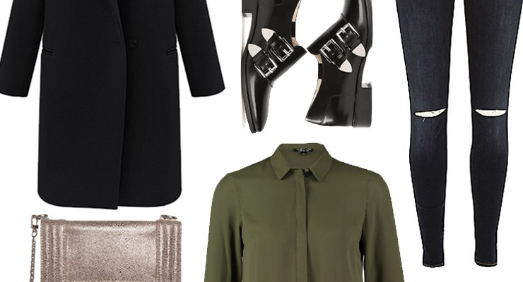 Styled by Manon #174 / Black coat