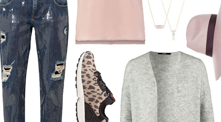Styled by Manon #193 / Leopard sneakers