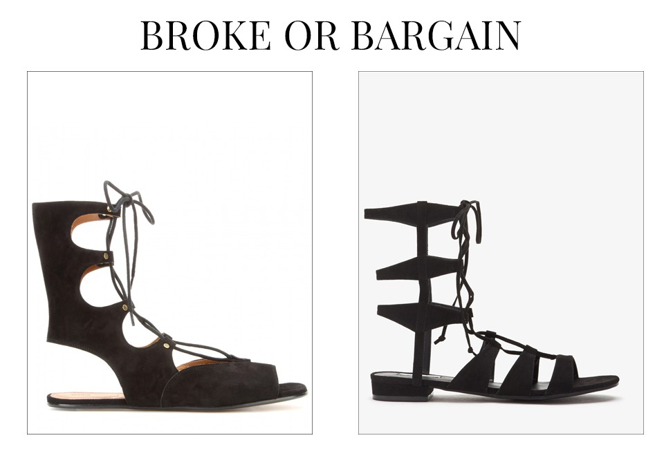Chloé gladiator sandals