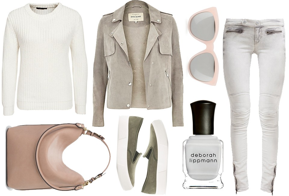 suède trench jacket