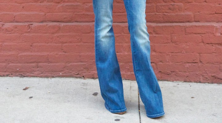 Steal the look: Flared jeans