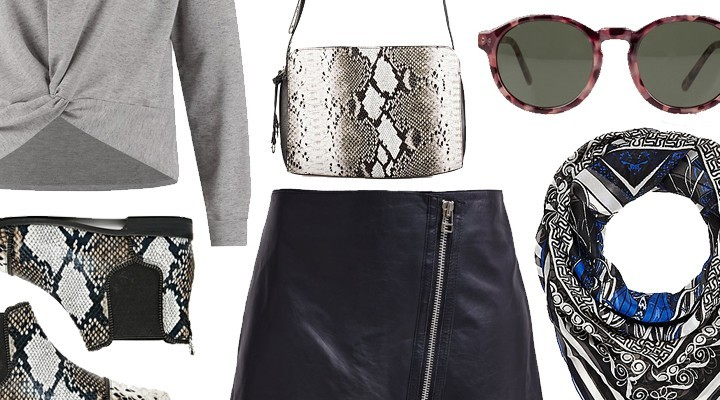 Styled by Manon #229 / Leather skirt