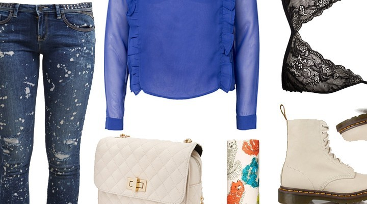 Styled by Manon #215 / Blue top