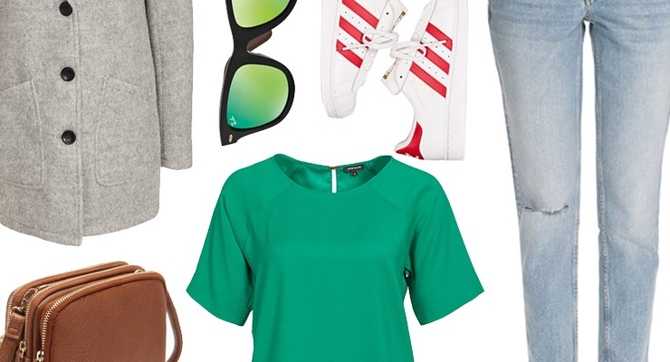 Styled by Manon #220 / Green top