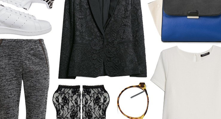 Styled by Manon #222 / Lace blazer