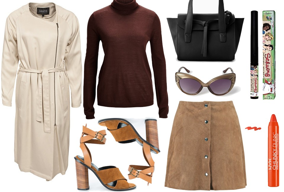 Styled by manon #233 / Suede skirt