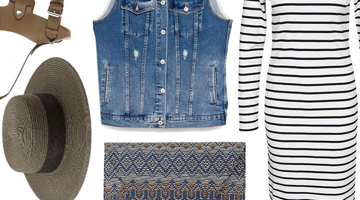 Styled by Manon #251 / Denim gilet