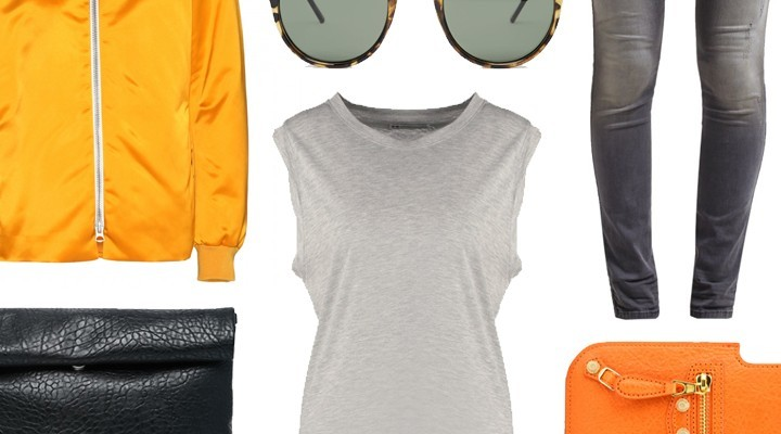Styled by Manon #256 / Orange festival look