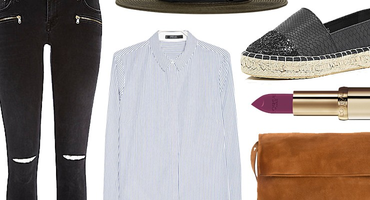 Styled by Manon #285 / Striped shirt