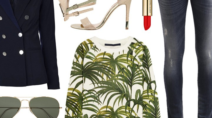 Styled by Manon #271 / Palm tree sweater