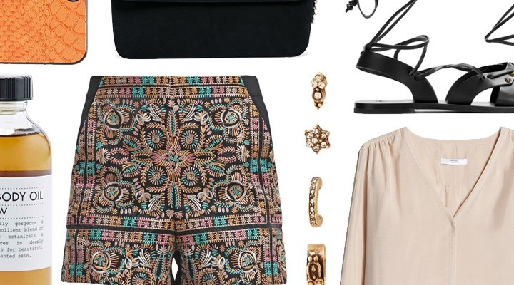 Styled by Manon #300 / Embroidered shorts