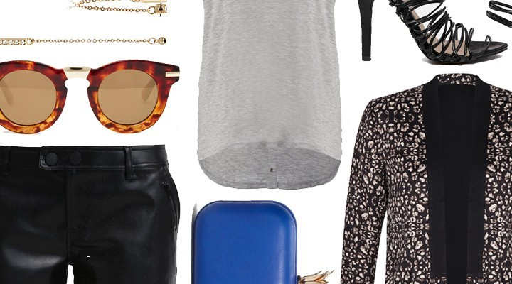 Styled by Manon #314 / Leopard print jacket