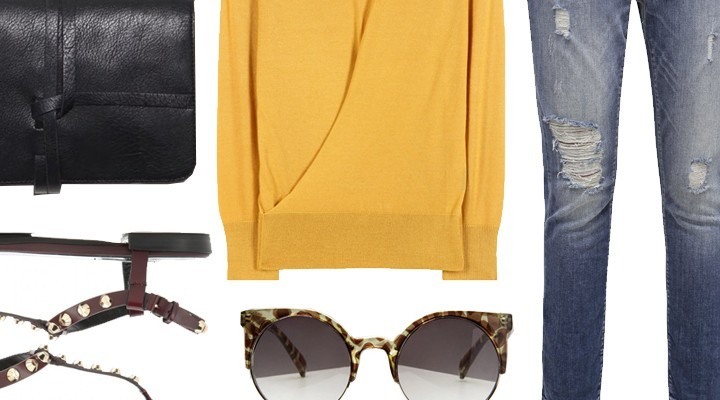 Styled by Manon #356 / Yellow shirt