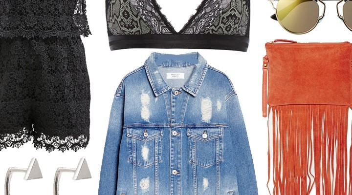 Styled by Manon #325 / Lace playsuit
