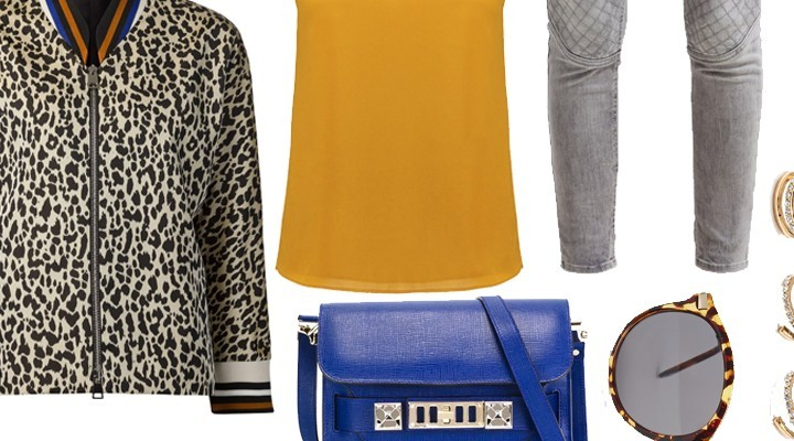 Styled by Manon #335 / Leopard bomberjack
